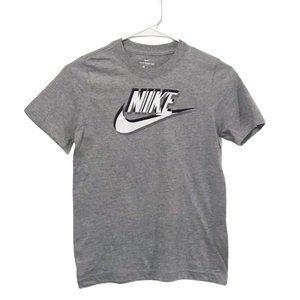 Nike NWOT Youth Gray Logo T-shirt